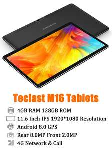 Teclast Tablet Network Android Dual-Wifi-Cameras Deca-Core 7500mah GPS 128GB 4GB 4GB-RAM