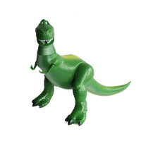 In Stock New Anime Deluxe Rex Dinosaur Figure Dolls Collect Christmas boys Gift B771