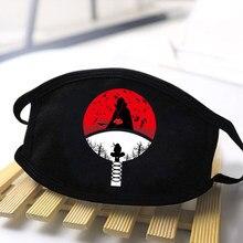Naruto logotipo impressão homem mulher máscaras anti poeira lavável macio máscara de alta qualidade dustproof boca abafa adulto causal resuable máscara