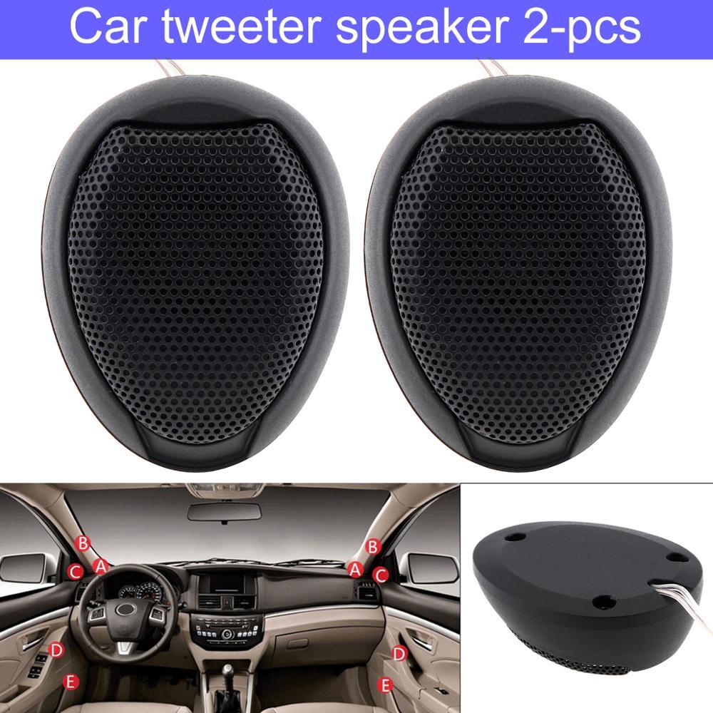Universal 2pcs 1000W Car Tweeters Speaker TW-106 High Efficiency Mini Dome Tweeter Speakers For Car Vehicle Auto Audio System