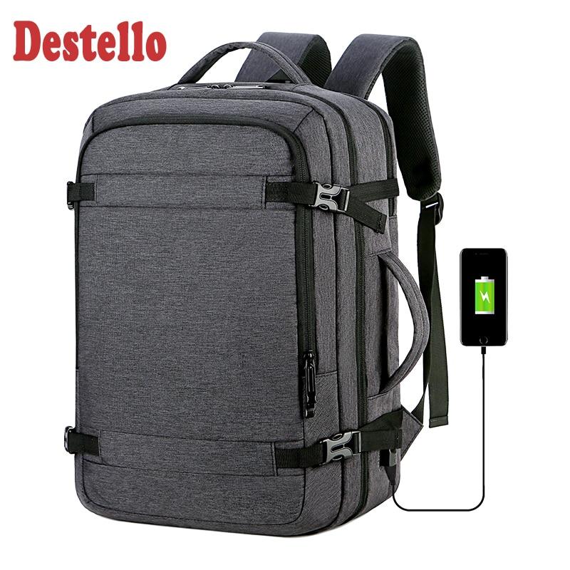 Multifunction Waterproof Men Backpack Business 16 Inch Bag Men Usb Laptop Backpack Roomy Travel Bag Backpack Schoolbag Male