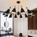 Новые современные подвесные светильники Duke  подвесные светильники для гостиной  гостиничного выставочного зала  светодиодные люстры
