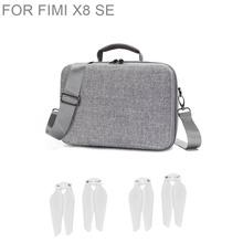 Torby dronowe Fimi X8 Se torba do przechowywania dronów wodoodporna torba kompresyjna na ramię dla Fimi X8 Se akcesoria do toreb tanie tanio BEHORSE 29*19 5*12 5cm XIAOMI 600g Drone torby For Fimi X8 SE Grey