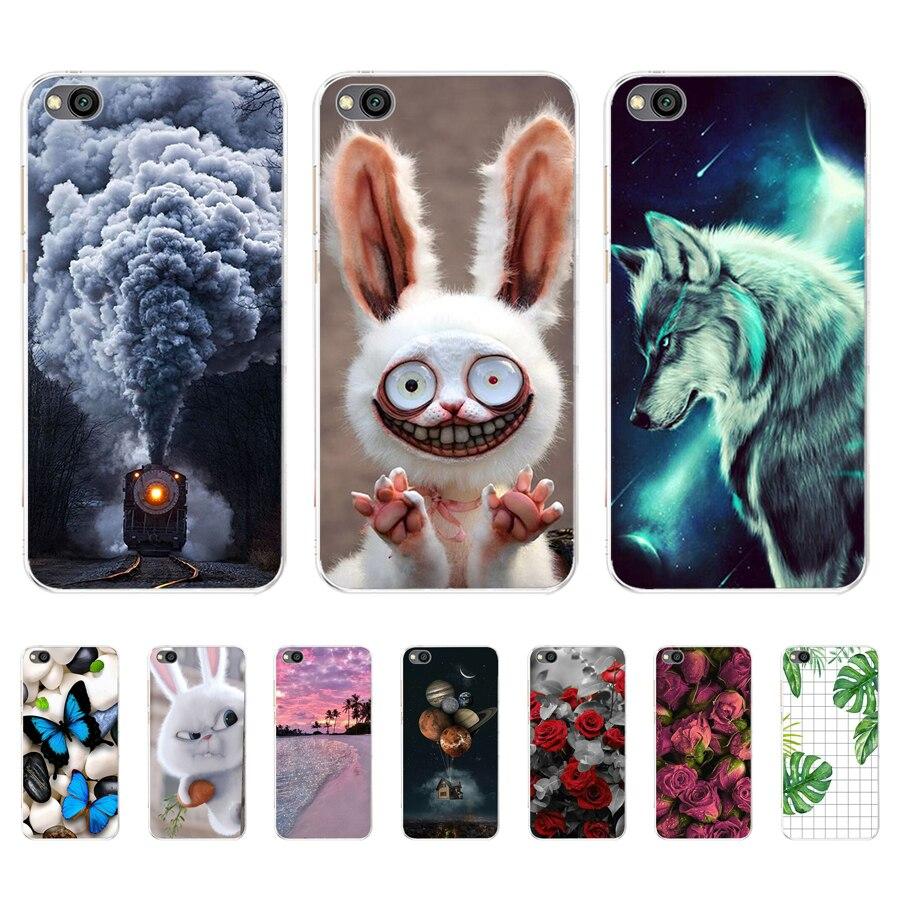 For Xiaomi Redmi Go Case on Redmi Go Cover Silicone Soft Back Cover Case For Xiaomi Redmi Go Phone Cases Fundas Coque 5.0'