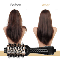 Electric Hair Brush One Step Hair Dryer Styler Brush Hot Air Iron Hair Straightener Comb Automatic Wave Formers Hair Curler 5