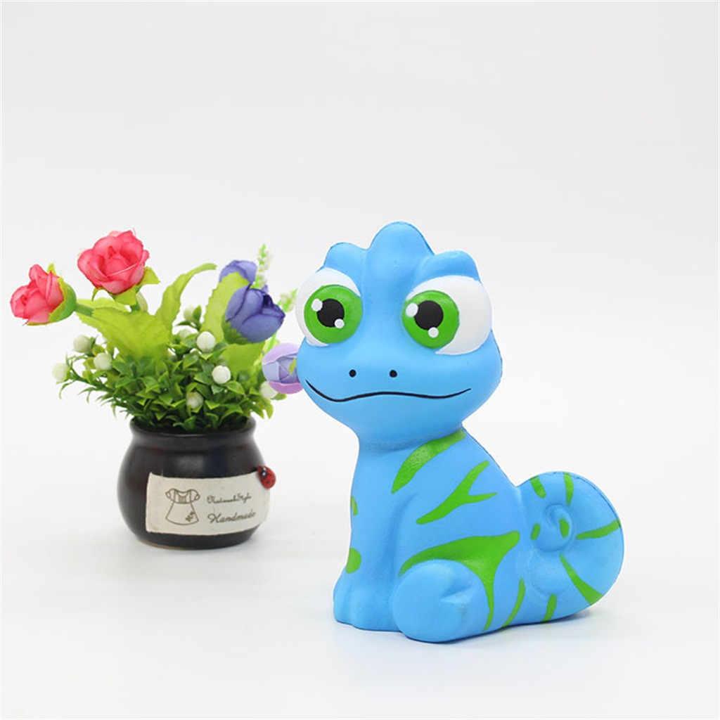 Blu Rosa Bianco Dinosauro giocattolo di Compressione Squishies Profumato Lento Aumento Spremere Giocattoli Sollievo Stress Gioca il Regalo del Giocattolo