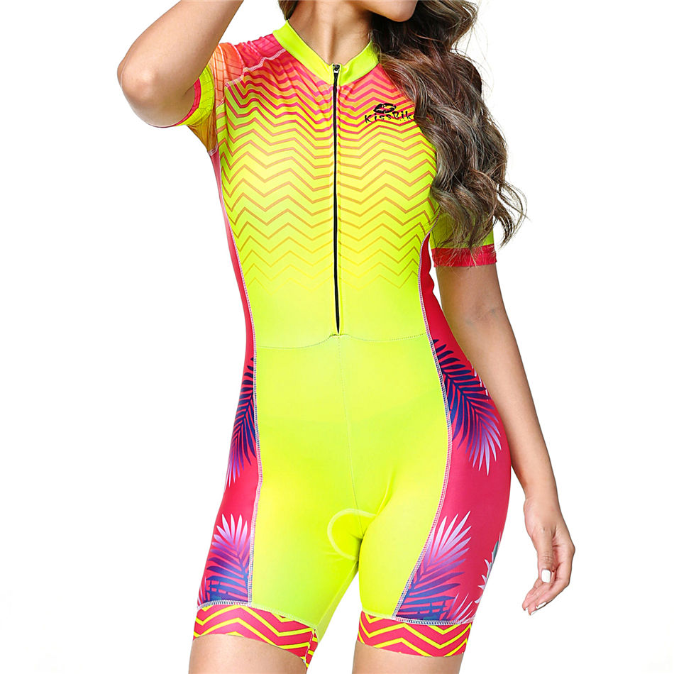 Triathlon suit blusas mujer de moda maillot ciclismo skinsuit cycling jersey speedsuit outdoor sportswear bike clothes bicicleta in Cycling Sets from Sports Entertainment