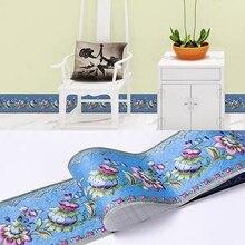 Sticker Wallpaper Self-Adhesive Baseboard PVC Europe Waistline Livingroom Border Bedroom