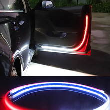 Welcome-Light Decorative Signal-Lamp-Strip Door Strobe Car-Interior Safety-Warning Auto