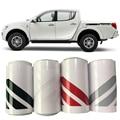 Автомобильные аксессуары  2 шт.  боковая дверь  коробка для кровати  автомобильная пленка в полоску  графический виниловый автомобильный сти...