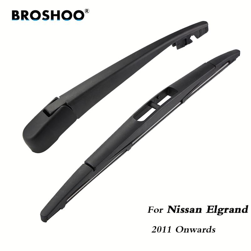 Задние щетки стеклоочистителя BROSHOO для Nissan Elgrand Hatchback (2011-) 305 мм, автостайлинг