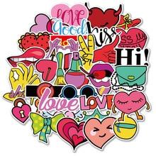 Baby Stickers Stickers Meisjes Fiets Stickers Hart Stickers Reizen Stickers 40 Pcs Stickers MTZ144 167 6 Dagboek Stickers Sticker