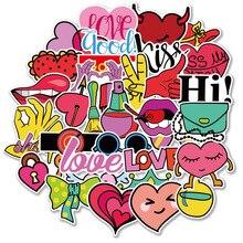 Pegatinas para bebé, pegatinas para bicicleta para niñas, pegatinas de corazón, pegatinas de viaje, pegatinas para Diario de MTZ144 167 6, 40 Uds.