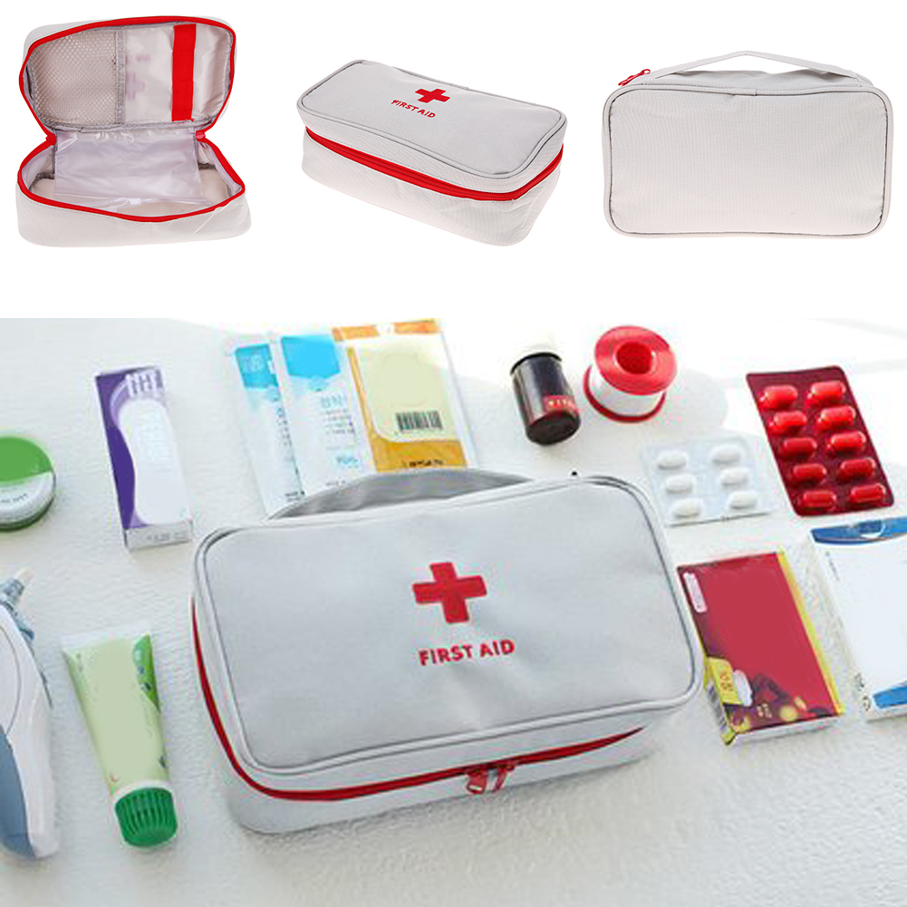 Travel Portable First Aid Emergency Medical Large Survival Bag Wrap Storage