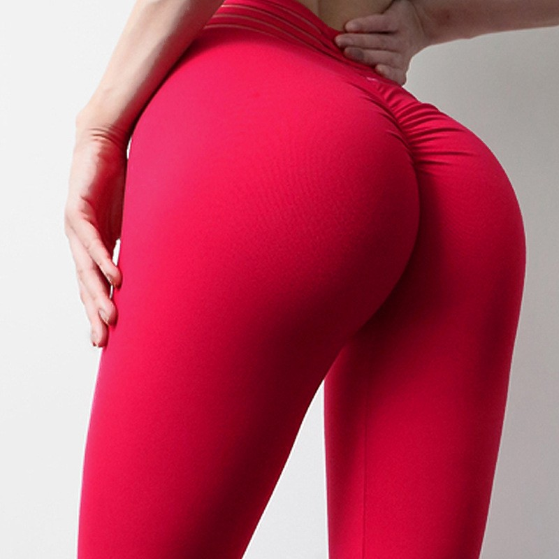 Hot Women Leggings Pants Sexy Red Leggins Push Up Slim Workout Exercise Lace High Waist Fit Slim Jogging Athletic Trousers