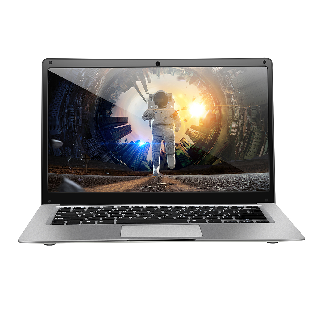 Laptop 14 Inch 4G RAM 64GB SSD Portable Ultra-Thin Laptop HD Quad Core Notebook 1 6 GHz EU Plug