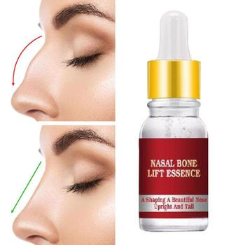Nano Gold Nose Shape Beautiful Nose Essential Oil Shaping Care Nasal Bone Remodeling Oil Lift Magic Essence Face Skin Care 10ml effecttive powerful nosal bone remodeling oil beautiful nose lift up cream magic essence cream beauty nose up shaping product