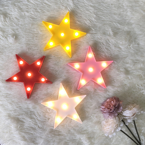 Image 3 - Cartoon Night Lights Unicorn/Flamingo/Cactus/Pineapple/Cloud/Star/Shell/Heart LED Table Lamp For Childrens Bedroom Decoration