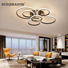 Светодиодный потолочный светильник для помещений 110 В 220 простой
