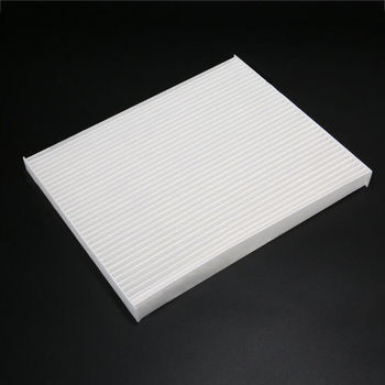 1pc Car Cabin AC Air Filter White 24*19*2cm Interior Cleaner In-Car For Hyundai Elantra/ Accent/Kia Forte Air Conditioner image
