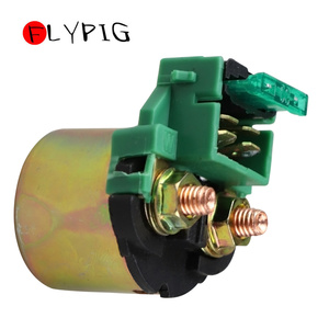 12V Motorcycle Starter Solenoid Lgnition Key Switch Starting Relay For HONDA GL1100 EX500 VN 800 CRF230 GL1200 GL1500 NX250 NX65(China)