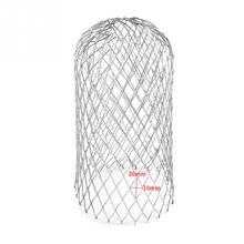 4 шт. сетчатый фильтр желоба защита практичный листья мусора Стоп Блокировка расширяемый антикоррозийный прочный Eave 3 дюймов алюминиевый фильтр