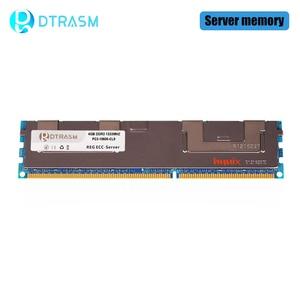 Image 4 - Dtrasme DDR3 4GB 8GB 16GB REG ECC serveur mémoire 1333MHz 1600MHz 1866MHz dimm REG ram prend en charge la carte mère X58 X79