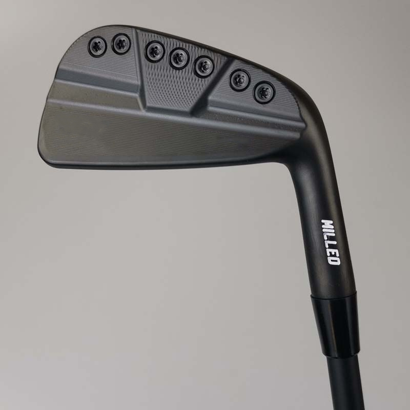 0311ST Single Branch Black No. 7 Iron Golf Irons Graphite And Steel Shaft Golf Club With Rod Cover Free Shipping