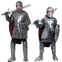 new Halloween Party Kids Royal Warrior Knight Costumes Boys Soldier Children Medieval Roman Cosplay Carnival Fancy Dress for kid