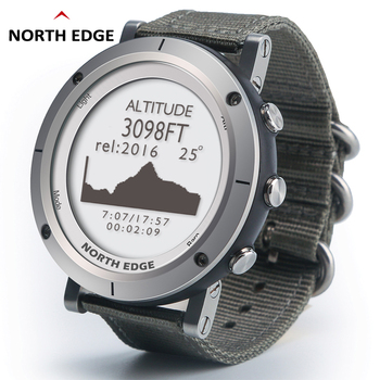 Smart watches Men outdoor sports watch waterproof 50m fishing GPS Altimeter Barometer Thermometer Compass Altitude NORTH EDGE 1