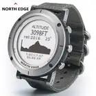 Умные часы для мужчин, спортивные часы для улицы, водонепроницаемые, 50 м, для рыбалки, gps, альтиметр, барометр, термометр, компас, высота, Север...