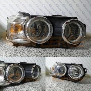 Image 3 - Kit de luces LED RGB para Chevrolet AVEO, mando a distancia por Bluetooth, multicolor, Ultra brillante, Ojos de Ángel