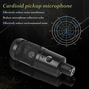 Image 2 - Microphone à condensateur Microphone USB pour ordinateur portable Mac enregistrement en continu
