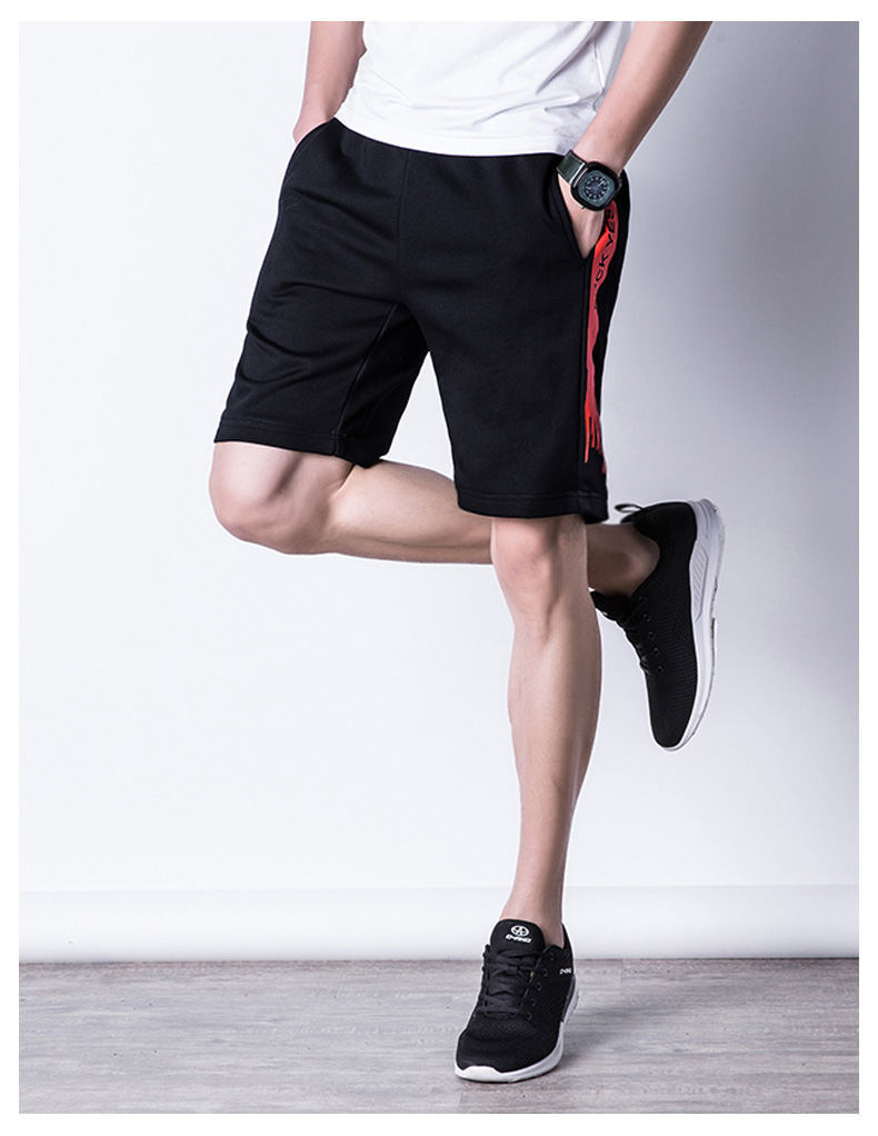 Casual Shorts Men Summer Sports Shorts Quality Beach Male Short Pants Breathable Elastic Waist Fashion Plus Size 5XL Boardshorts 04