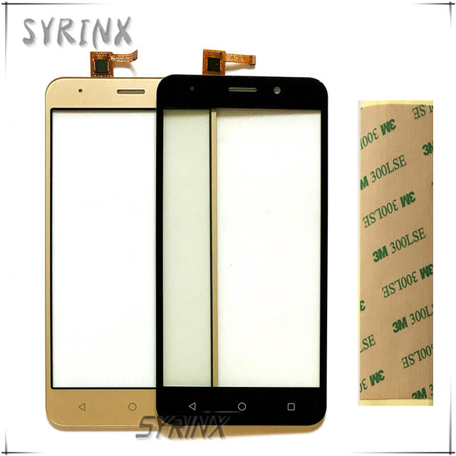 Syrinx With Tape Mobile Phone Touch Panel Screen For INOI 2 Lite Touch Screen Digitizer Front Glass Sensor Touchscreen