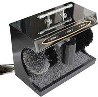220 V/50Hz hause schuh polierer schuh pinsel lebensdauer elektrische induktion automatische schuh polierer