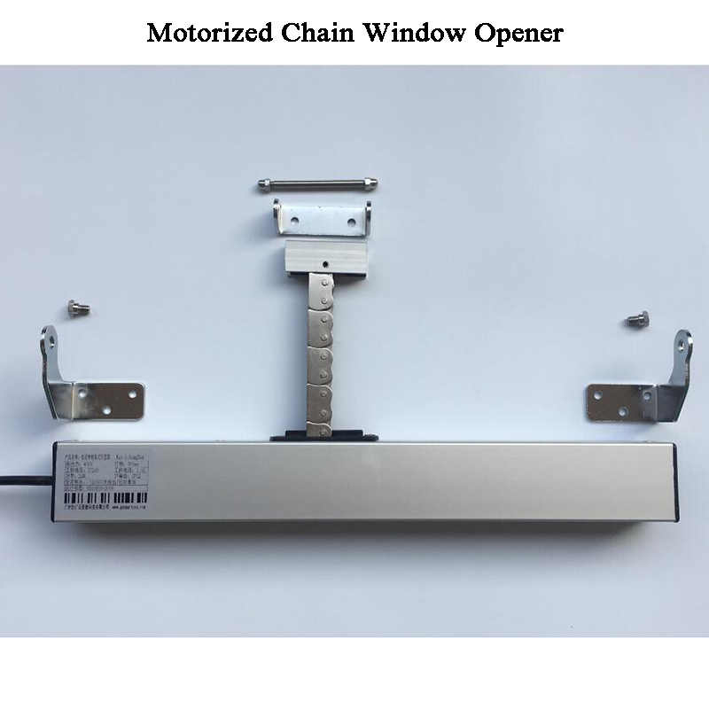 3 линии AC220V интеллектуальная беспроводная (Wi-Fi) открывателя окна Tuya моторизованный цепной ключ-открывашка окна привод мансардные окна теплицы домашней автоматизации