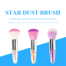 Foundation Eyeshadow Concealer Lip Eye Brush Cosmetics Beauty Tools cosmetic powder blending Star Dust Makeup Brushes Set цена 2017