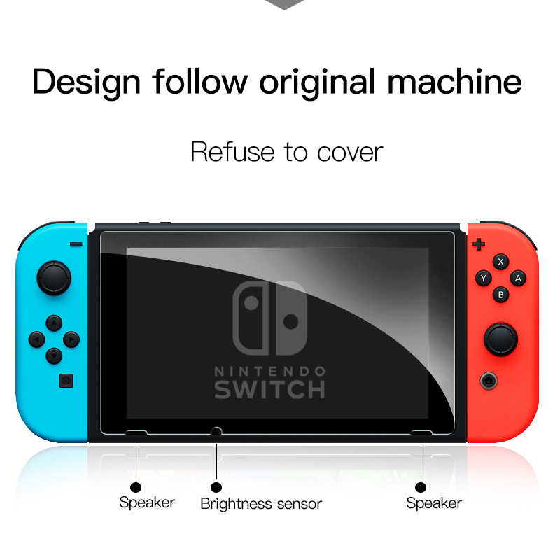 Mod-X HD Klar 9H für Nintend Schalter Gehärtetem Glas Screen Protector Film NS Nintendoswitch Schalter Schutz Glas zubehör