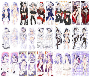 Dakimakura Body Azur Lane 150x50cm 100x35cm Pillow Case Cover Anime Manga 2(China)