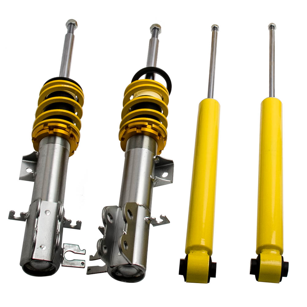 Rear Shock Absorber Dust Cover Bump Stop Set VAUXHALL CORSA D MKIII 2006