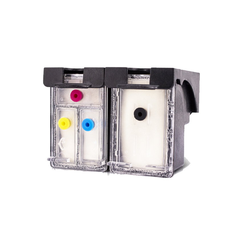 einkshop 302XL Refillable Ink Cartridge for <font><b>hp</b></font> 302 <font><b>Deskjet</b></font> 1110 <font><b>3639</b></font> 3831 3630 Envy 4650 4525 4527 European Printer image