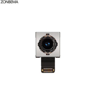 Image 3 - Модуль камеры заднего вида ZONBEMA с датчиком вспышки, основная камера с гибким кабелем для iPhone X, XR, XS, 5 5S, 5C, SE, 6, 6S, 7, 8 Plus, XS MAX, оригинал
