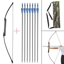 Recurve Bow and Arrows Set Takedown Recurve Bow 35-40lbs Straight Bow Hunting Adult Beginner Shooting Bow And Arrow Set archery 66 68 70inch recurve bow draw weight 16 40lbs takedown bow hunting with a set recurve bow sight and arrow rest