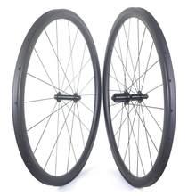 700c estrada rodas de carbono 35mm 38mm 45mm 50mm 60mm rodas de estrada de carbono clincher rodas de bicicleta