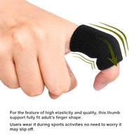 10pcs Stretchy Sports Finger Sleeves Arthritis Support Finger Guard Outdoor Basketball Volleyball Finger Protection #284469
