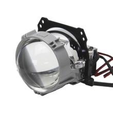 Bedehon 2 PCS 2.5 LHD RHD Bi LED Biled Projector Headlight Car Lens Lenticulars for patrol y61, bmw e46 touring, for jeep jk optima premium biled lens professional series