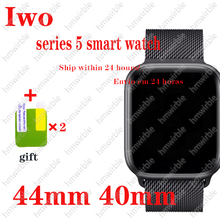 IWO Pro Smart Watch 44mm 40mm For IOS Android Smartwatch Heart Rate Bluetooth Calling Music Player Series 5 watches pk Iwo 12