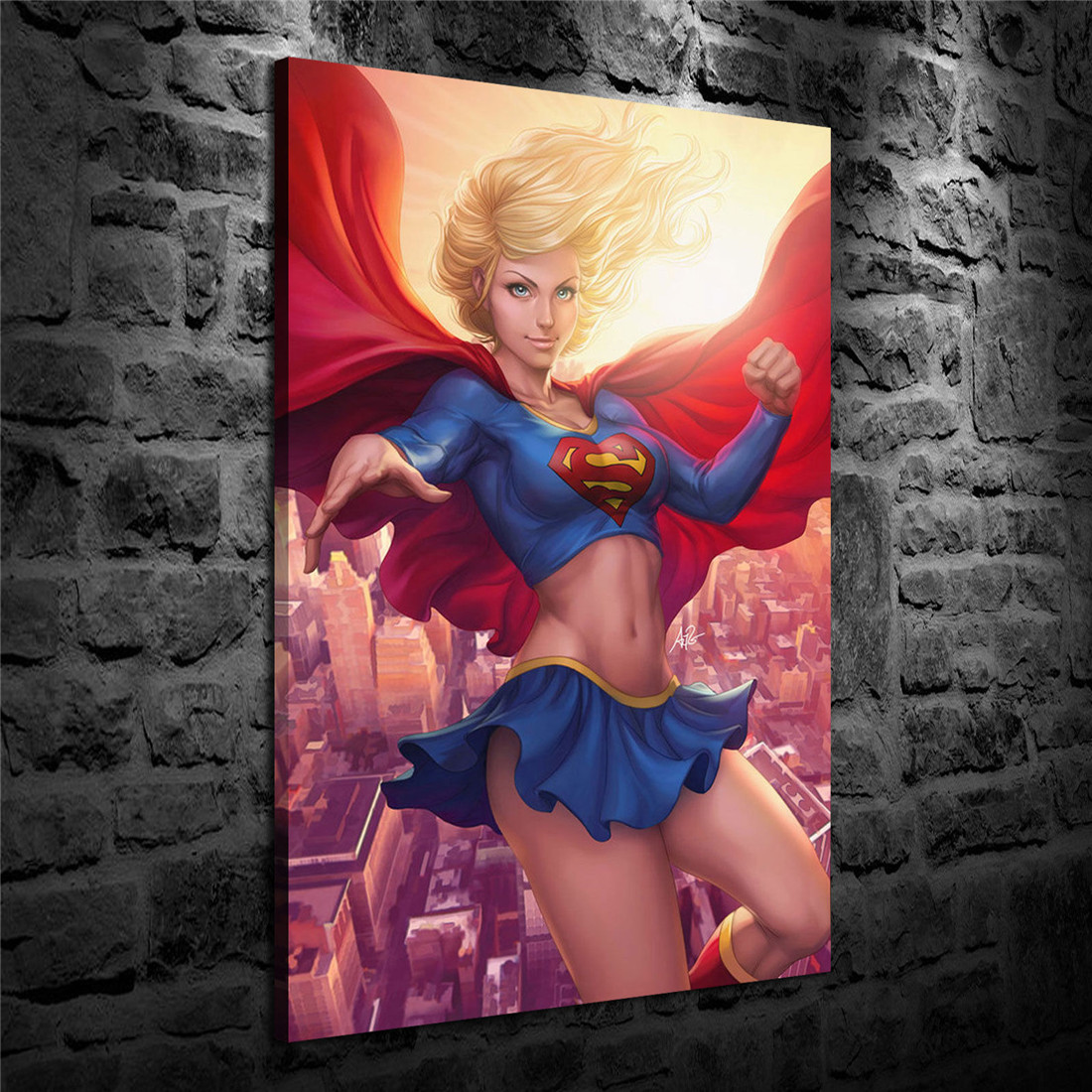 HD Print Oil Painting Home Decor Art on Canvas Batgirl Issue 12x18inch Unframed