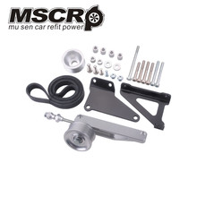 A/C & P/S Eliminator Delete Pulley Kit for Honda/Acura K20  Engines